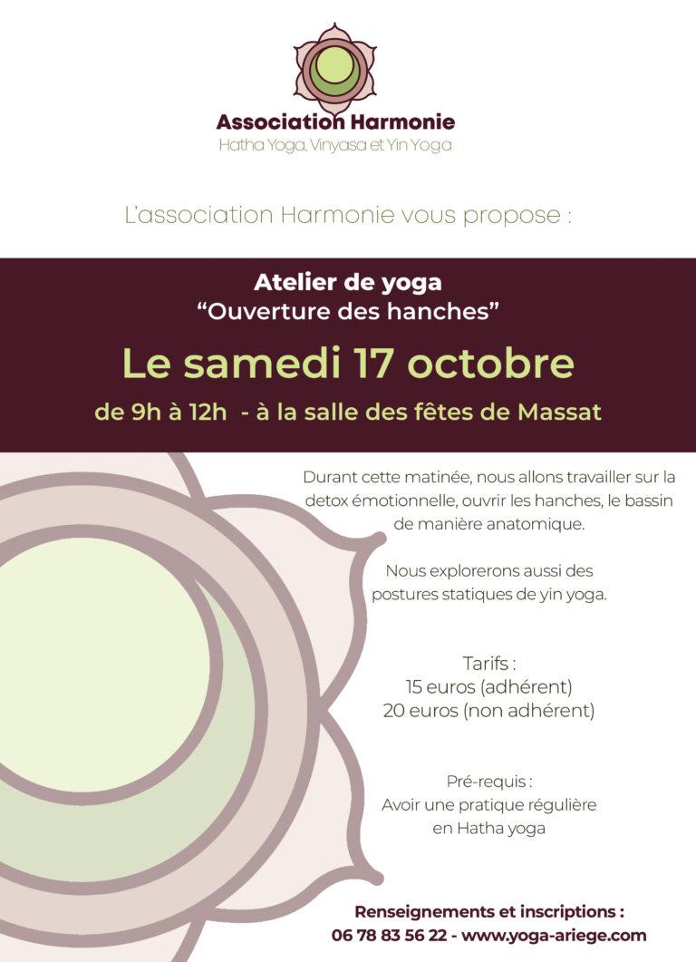 Stage de yoga - 17 octobre 2020 à Massat